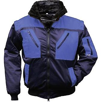L+D Griffy 4209 4-in-1 Multi-Functions-Pilot jacket with warning effect. Dark blue, Royal-blue XXXL
