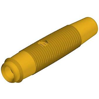 SKS Hirschmann KUN 30 Au Jack socket Socket, straight Pin diameter: 4 mm Yellow 1 pc(s)