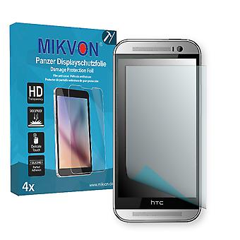 HTC One M8 2014 LTE-A Screen Protector - Mikvon Armor Screen Protector (Retail Package with accessories)