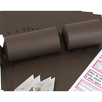 Single Jumbo Brown Make & Fill Your Own Cracker Making Craft Kit