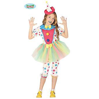 Clownkostüm meisjes kind clown kostuum nar kostuum