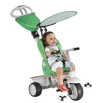 Recliner 4-in-1 Baby Trike - Green / Cream