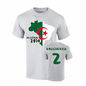 Algerien 2014 Country Flag-T-Shirt (Bougherra 2)