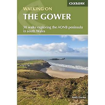 Walking on the Gower (2nd Revised edition) by Andrew Davies - 9781852