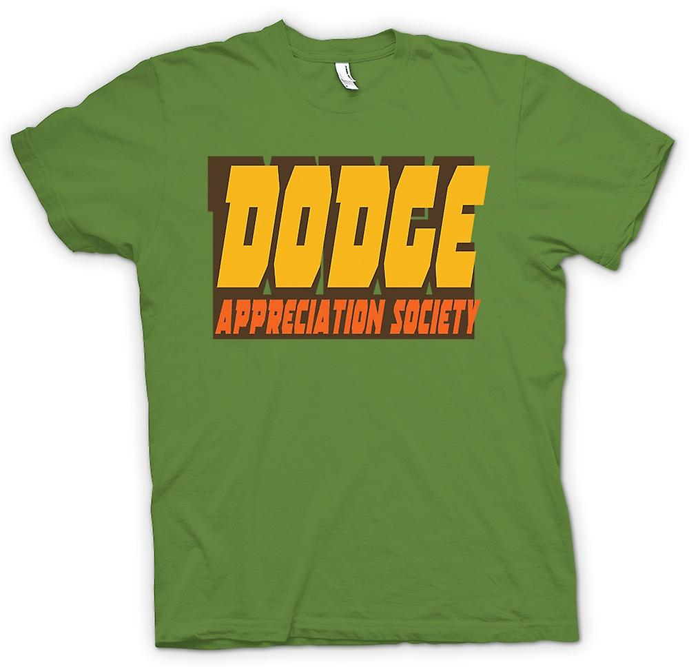 Mens t-skjorte-Dodge Appreciation Society