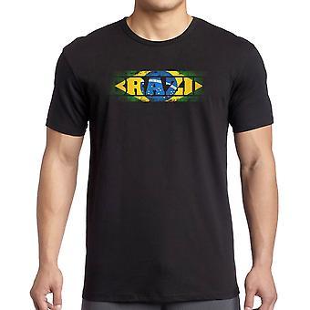 Bandiera Brasile brasiliano - parole bambini T Shirt