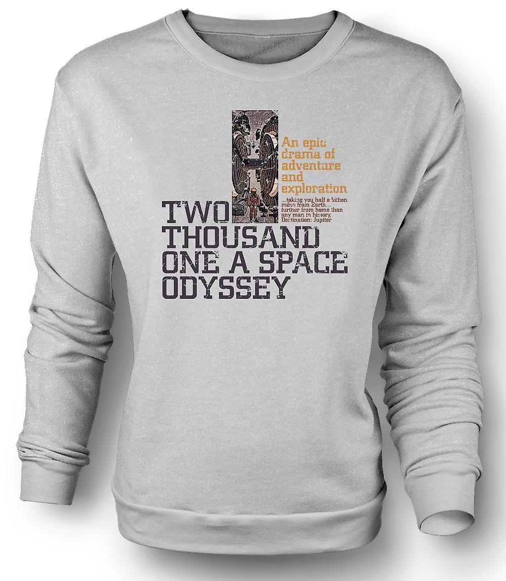 Herren Sweatshirt 2001 A Space Odyssey - Kubrick