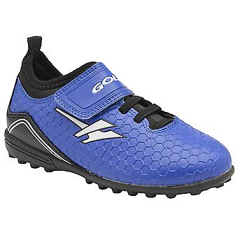 Gola Childrens Kids Apex VX Touch Fastening Astro Turf Football Boots