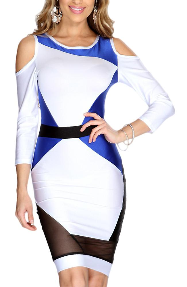 Waooh - tricolor Evening Dress Gual