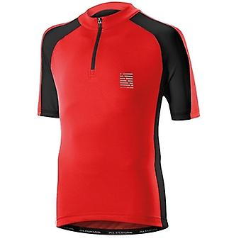 Altura Red-Black 2016 Sprint Kids Short Sleeved Cycling Jersey