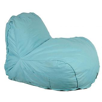 Bean Bag Lazy Lounger Light Blue Beanbag Relax Chair Cushion Indoor Outdoor Home With Carry Case