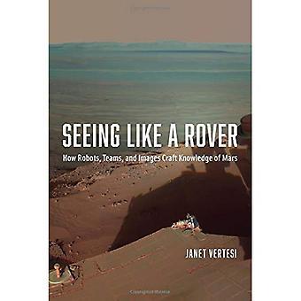 Vendo como um Rover: como robôs, equipes e imagens artesanato conhecimento de Marte