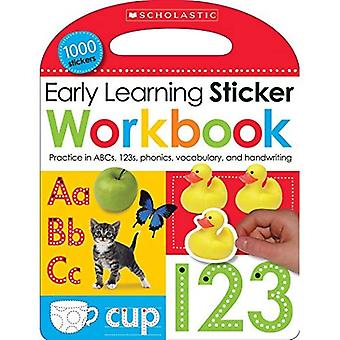 Early Learning Sticker Workbook (Scholastic Early Learners)