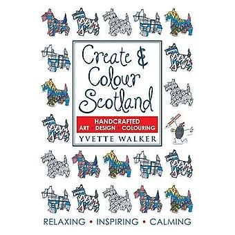 Créer & coloris Ecosse: Art, Design, coloration