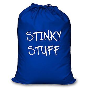 Blue Laundry Bag Stinky Stuff
