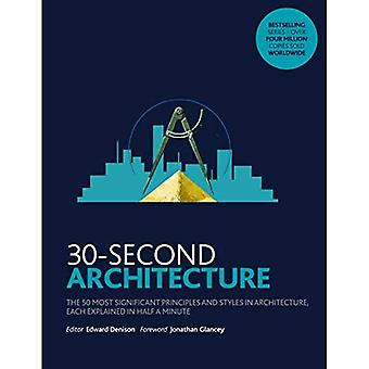 30-Second Architecture: The 50 Most Signicant Principles and Styles in Architecture, each Explained� in Half a Minute (30 Second)