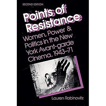 Points de résistance: femmes, pouvoir et la politique dans le cinéma d'Avant-Garde, 1943-71 de New York