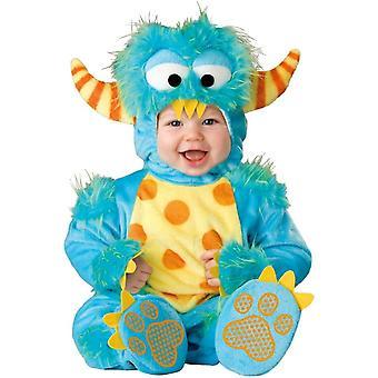 Blauwe Monster baby kostuum