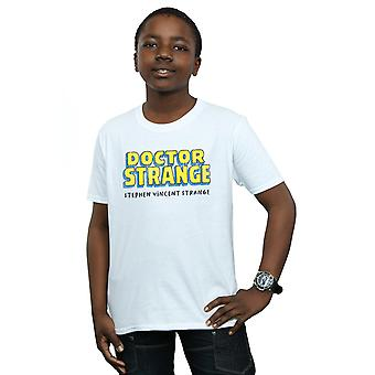 Marvel Boys Doctor Strange AKA Stephen Vincent Strange T-Shirt