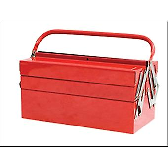 METAL CANTILEVER TOOL BOX 49CM (19IN) 5 TRAY