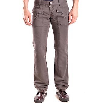 John Richmond Brown Cotton Pants