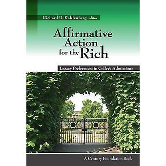 Positiv särbehandling för rika - Legacy preferenser i College Admiss