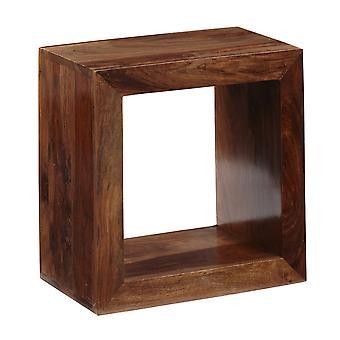 Oslo Sheesham Single Hole Cube