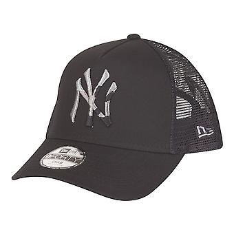 New Era Kids Trucker Cap-CAMO NY Yankees zwart