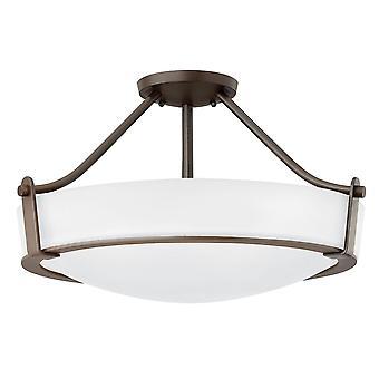 Stead-2 Light Medium Semi-Flush-Olde Bronze-HK/HATHAWAY/SFMB