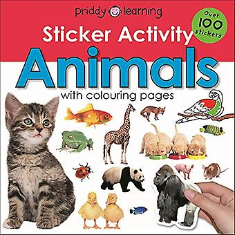 Sticker Activity Animals by Roger Priddy - 9781783414949 Book