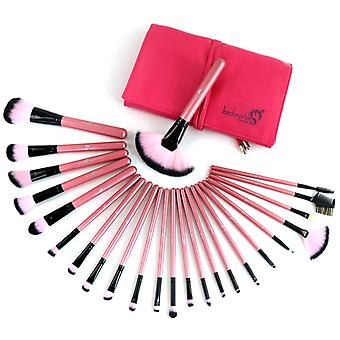 Artistic Fuchsia Set 24 St. Makeup Brushes-London Pride Cosmetics
