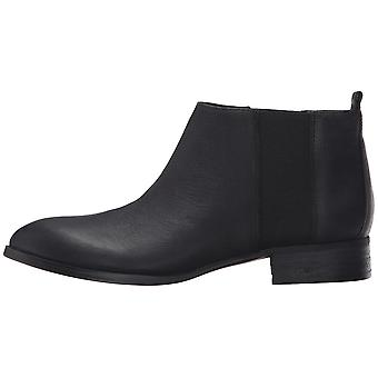 Nine West Womens Nolynn Leather Pointed Toe Ankle Chelsea Boots