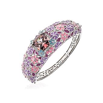 Belle Etoile Enchanted Garden Purple Bangle