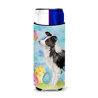 Border Collie Easter Michelob Ultra Hugger for slim cans