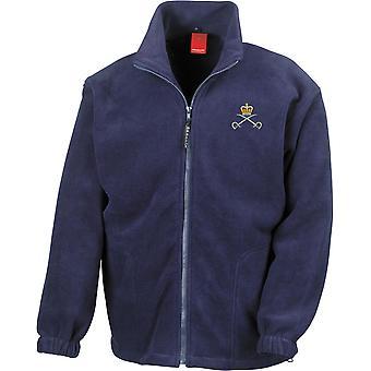 Royal Army Physical Training Corps PTI - Chaqueta de fleece de peso pesado bordado del ejército británico con licencia