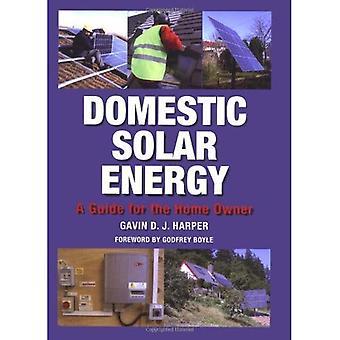 Energía Solar doméstica: Una guía para el propietario de la casa