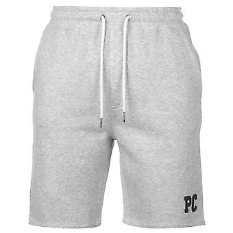 Pierre Cardin Mens Applique Fleece Shorts