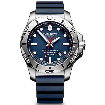 Victorinox Stainless Stainless Watch for Analog Man Quartz With Rubber Bracelet V241734