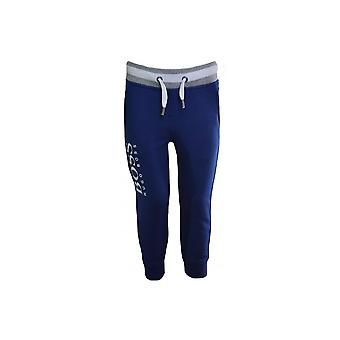 Hugo Boss Boys Hugo Boss Kids Blue Jogging Bottoms