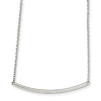 925 Sterling Silber poliert mit 1 Zoll Ext. Halskette - 16 Zoll