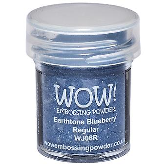 Wow! Embossing Powder 15Ml Blueberry Wow Wj06r