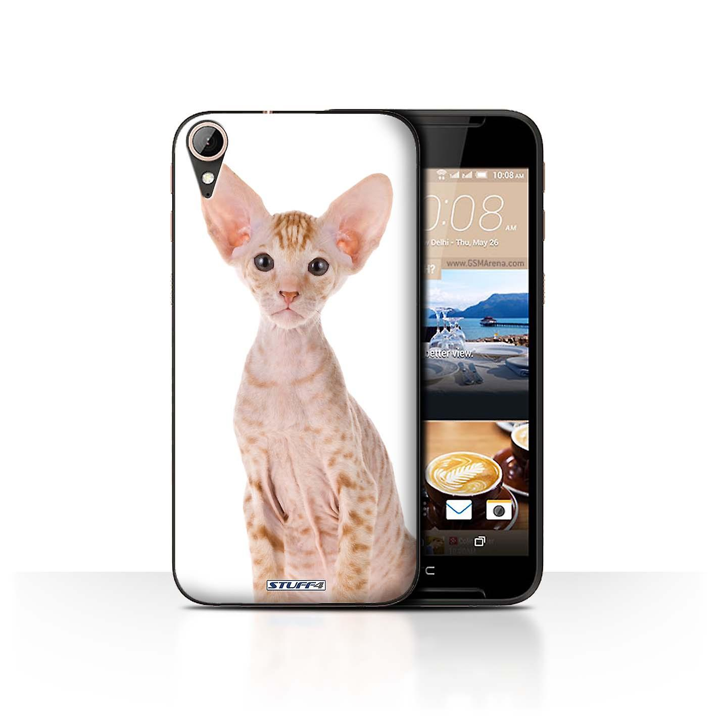 STUFF4 Case/Cover for HTC Desire 830/Peterbald/Cat Breeds