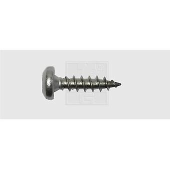 Roundhead wood screws 4 mm 20 mm Torx Stainless steel A2 25 pc(s) SWG 1839642030