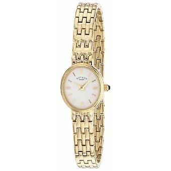 Rotierende vergoldete Womens Armband-LB02084/02-Watch