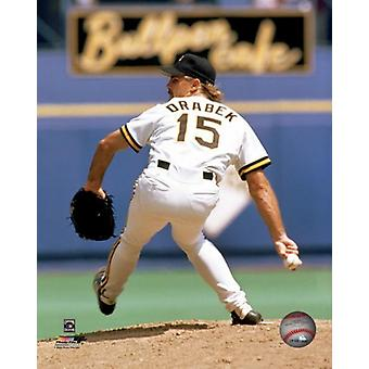 Doug Drabek windup Photo Print