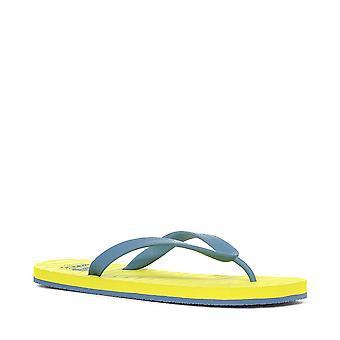 New Reef Men's Casual Wear Chipper Flip Flops Yellow