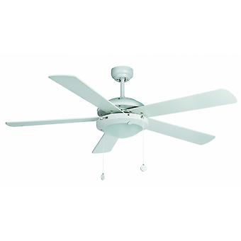 "Faro ceiling fan Manila White 132 cm / 52"" with lighting"