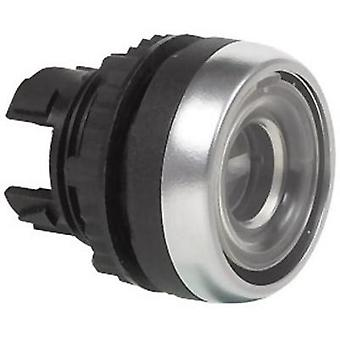 Pushbutton Front ring (PVC), chrome-plated, planar Colourless BACO L21AA00 1 pc(s)