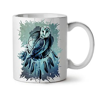 Owl Night Creature Bird Nature NEW White Tea Coffee Ceramic Mug 11 oz | Wellcoda