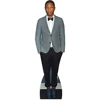 Pharrell Williams Lifesize pap påklædningsdukke / Standee / står